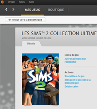 Sims 2 Complete Collection on Origin